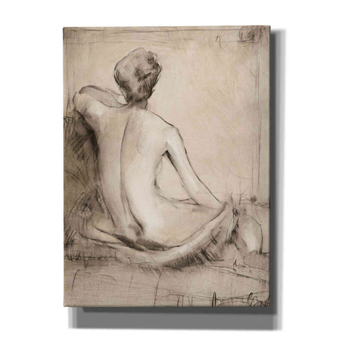 'Neutral Nude Study I' by Tim O'Toole, Canvas Wall Art