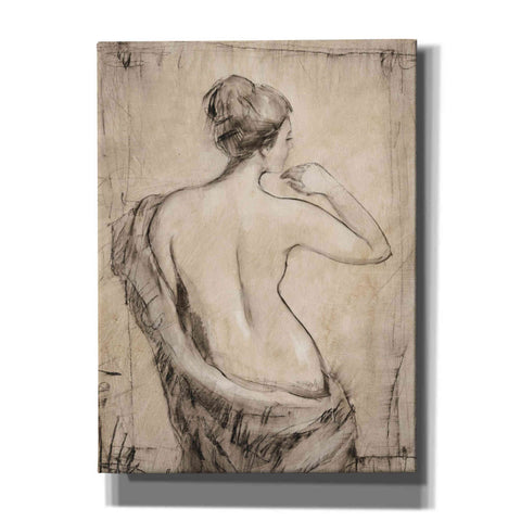 'Neutral Nude Study II' by Tim O'Toole, Canvas Wall Art