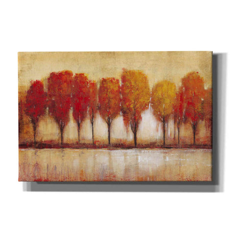 Image of 'Autumn Water's Edge' by Tim O'Toole, Canvas Wall Art