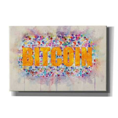 Image of 'Bitcoin Era 2' by Surma and Guillen, Canvas Wall Art