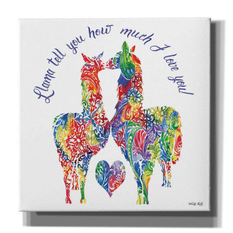 'Llama Tell You…' by Cindy Jacobs, Canvas Wall Art