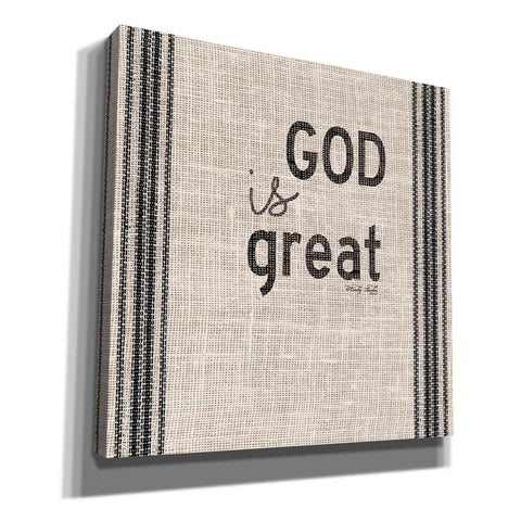 Image of 'God is Great' by Cindy Jacobs, Canvas Wall Art
