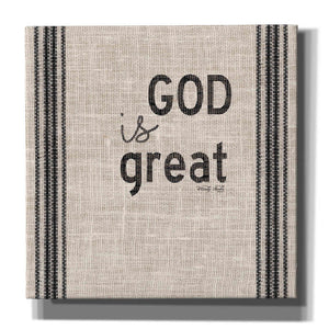 'God is Great' by Cindy Jacobs, Canvas Wall Art