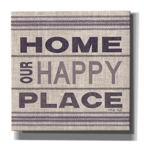 Image of 'Home - Our Happy Place' by Cindy Jacobs, Canvas Wall Art