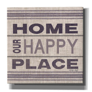 'Home - Our Happy Place' by Cindy Jacobs, Canvas Wall Art