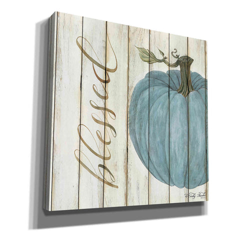 'Blessed Blue Pumpkin' by Cindy Jacobs, Canvas Wall Art