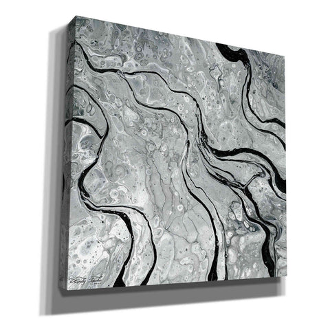 'Abstract in Gray V' by Cindy Jacobs, Canvas Wall Art