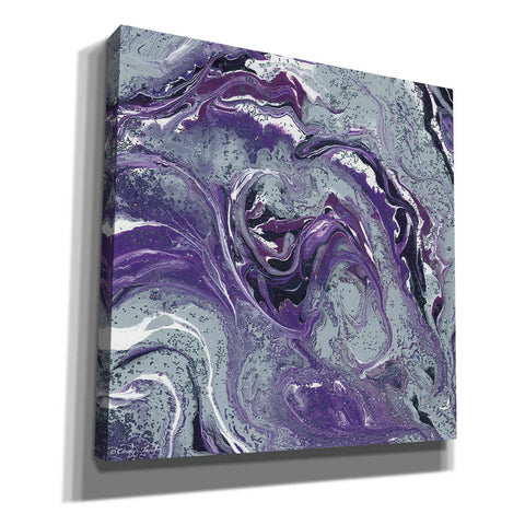 'Abstract in Purple I' by Cindy Jacobs, Canvas Wall Art