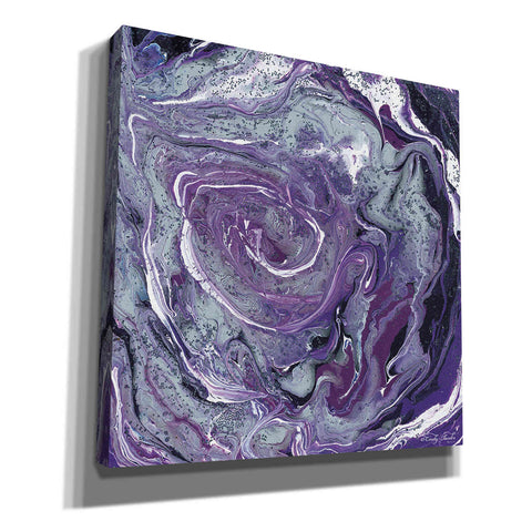 'Abstract in Purple II' by Cindy Jacobs, Canvas Wall Art