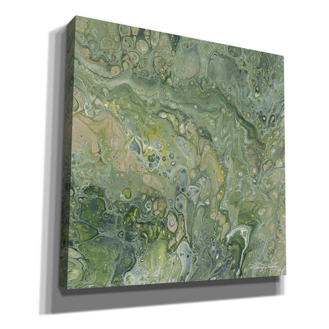 'Abstract in Seafoam III' by Cindy Jacobs, Canvas Wall Art