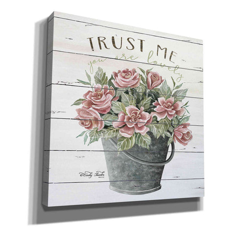 'Trust Me' by Cindy Jacobs, Canvas Wall Art