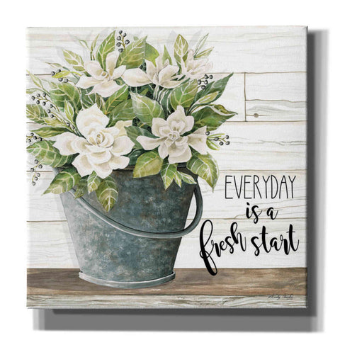 'Everyday is a Fresh Start' by Cindy Jacobs, Canvas Wall Art