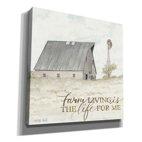 'Farm Living' by Cindy Jacobs, Canvas Wall Art