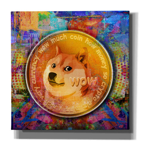 Image of 'DOGE Crypto Dogecoin,' by Portfolio, Canvas Wall Art
