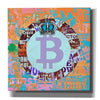 'Bitcoin Cryptocurrency 2-1' by Irena Orlov, Canvas Wall Art