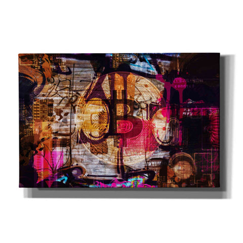 'Crypto currency Bitcoin 2' by Irena Orlov, Canvas Wall Art