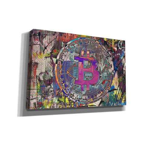 Image of 'Bitcoin Coin 1' by Irena Orlov, Canvas Wall Art