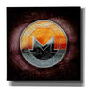'XMR Monero Coin,' Canvas Wall Art