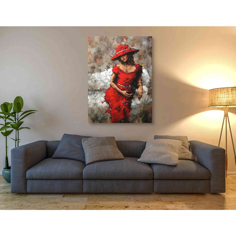 Image of 'Wine and Unwind' by Alexander Gunin,  Canvas Wall Art,40 x 54