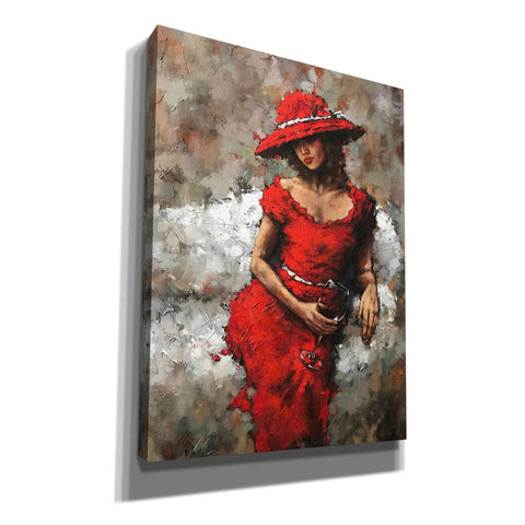 'Wine and Unwind' by Alexander Gunin,  Canvas Wall Art