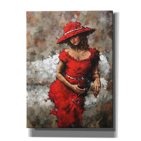 Image of 'Wine and Unwind' by Alexander Gunin,  Canvas Wall Art