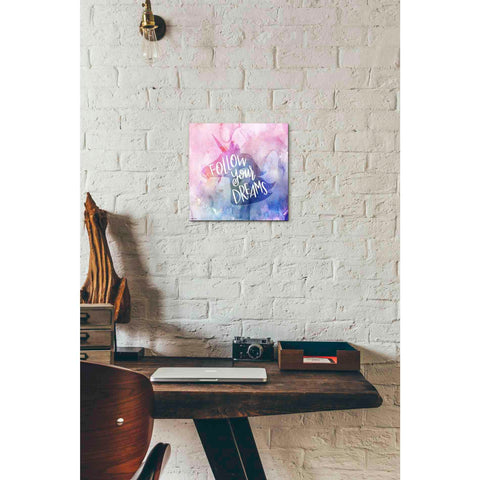 Image of 'Unicorn Dreams' by Kyra Brown, Canvas Wall Art,12 x 12