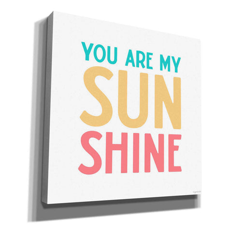 'My Sunshine' by Kyra Brown, Canvas Wall Art,Size 1 Square