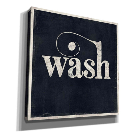 'Wash' by Kyra Brown, Canvas Wall Art,Size 1 Square