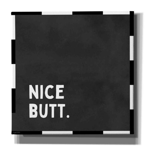'Nice Butt' by Kyra Brown, Canvas Wall Art,Size 1 Square