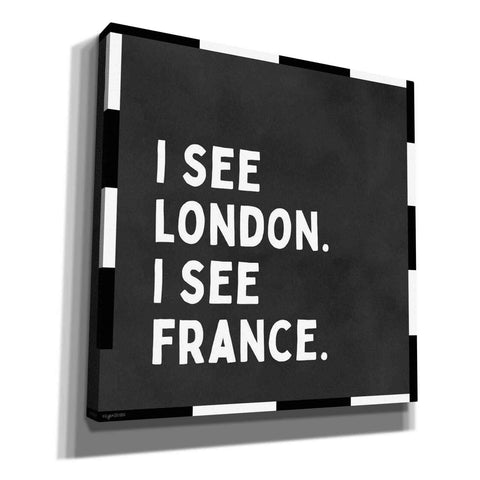 'I See London' by Kyra Brown, Canvas Wall Art,Size 1 Square