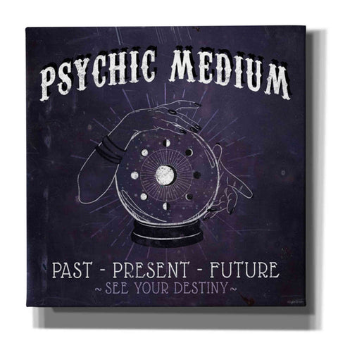 'Psychic Medium' by Kyra Brown, Canvas Wall Art,Size 1 Square