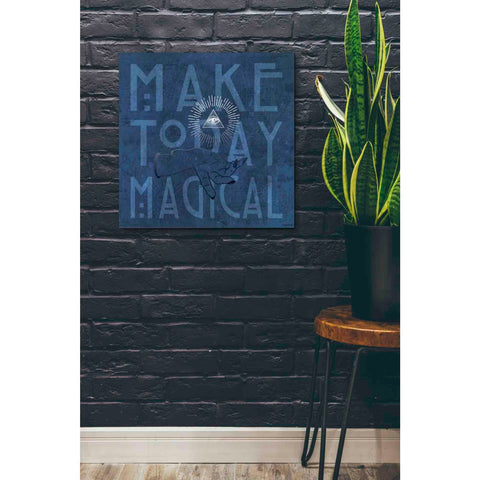'Make Today Magical' by Kyra Brown, Canvas Wall Art,26 x 26