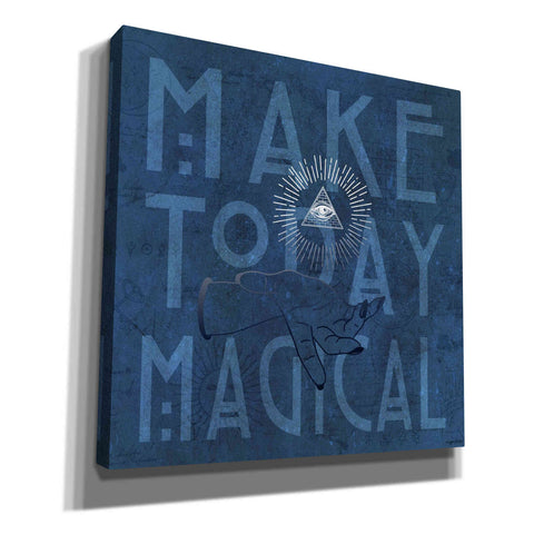 'Make Today Magical' by Kyra Brown, Canvas Wall Art,Size 1 Square