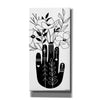 'Flower Hand' by Kyra Brown, Canvas Wall Art,Size 2 Portrait