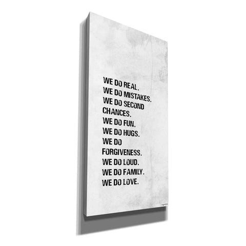 'We Do' by Kyra Brown, Canvas Wall Art,Size 2 Portrait