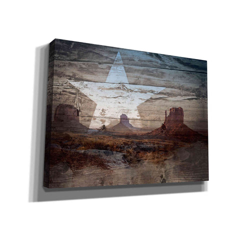 'Desert Star' by Kyra Brown, Canvas Wall Art,Size C Landscape