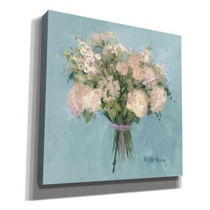 'Rose Bouquet I' by Yellow Cafe, Canvas Wall Art,Size 1 Square
