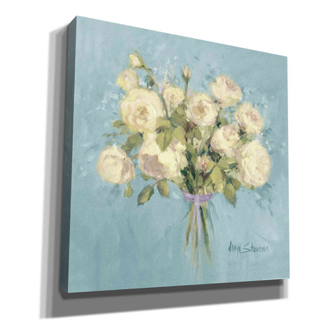 Image of 'Rose Bouquet II' by Yellow Cafe, Canvas Wall Art,Size 1 Square