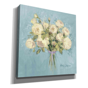 'Rose Bouquet II' by Yellow Cafe, Canvas Wall Art,Size 1 Square