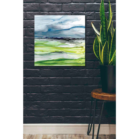 'Washed Vistas I' by Yellow Cafe,  Canvas Wall Art,26 x 26