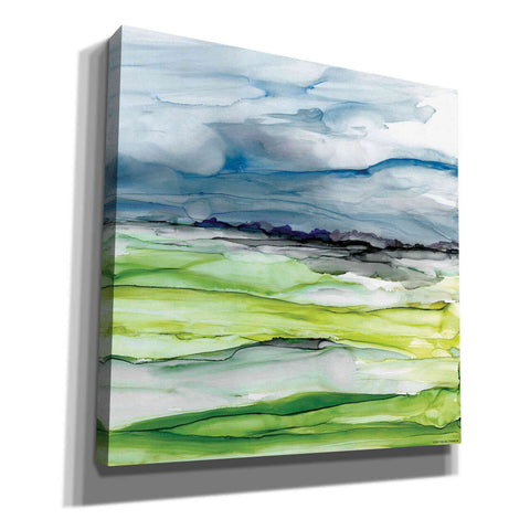 'Washed Vistas I' by Yellow Cafe,  Canvas Wall Art,Size 1 Square