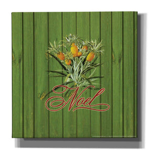 'Noel' by Yellow Cafe, Canvas Wall Art,Size 1 Square