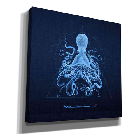 'Octoprint II' by Yellow Cafe, Canvas Wall Art,Size 1 Square