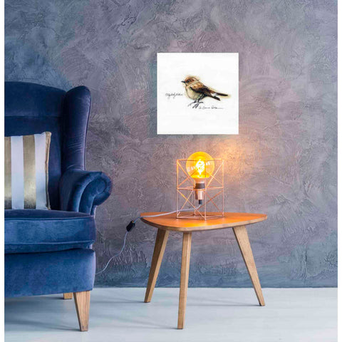 Image of 'Finch' by Yellow Cafe, Canvas Wall Art,18 x 18