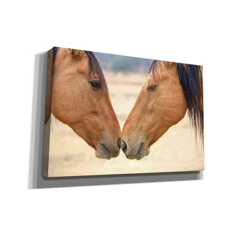 'Best Friends' by Yellow Cafe, Canvas Wall Art,Size A Landscape