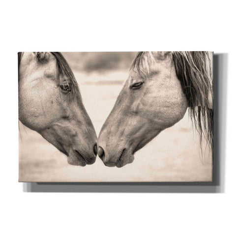 'Best Friends II' by Yellow Cafe, Canvas Wall Art,Size A Landscape