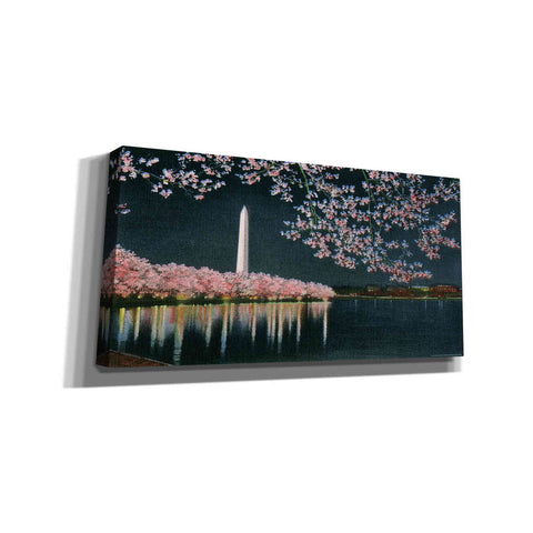 Image of 'Washington at Night' by Yellow Cafe, Canvas Wall Art,Size 2 Landscape