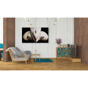 'Marilyn's Reflection' by Yellow Cafe, Canvas Wall Art,40 x 26