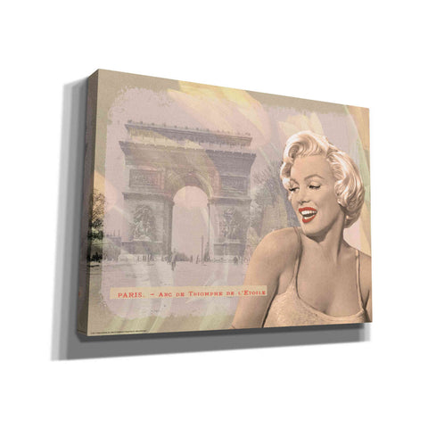 'Marilyn's Triomphe' by Yellow Cafe, Canvas Wall Art,Size C Landscape