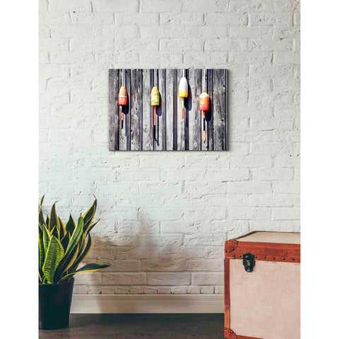 'Floaters' by Yellow Cafe, Canvas Wall Art,26 x 18
